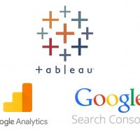 SEO Tabeleau google analytics google search console データ分析 データドリブン